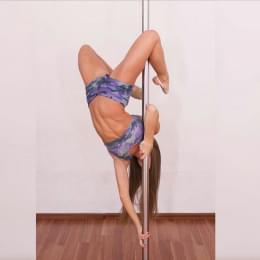 Камуфляжные шорты для pole dance и фитнеса