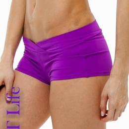 Шорты для Pole Dance фиолетовые
