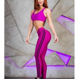 "Топик для фитнеса MuscleTop ""Cyclamen"""